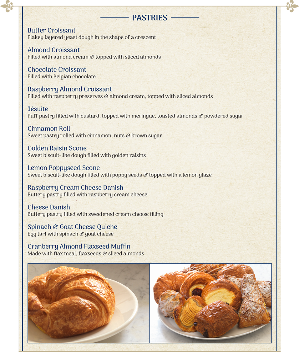 Specialty S Cafe Bakery Menu Sandwiches